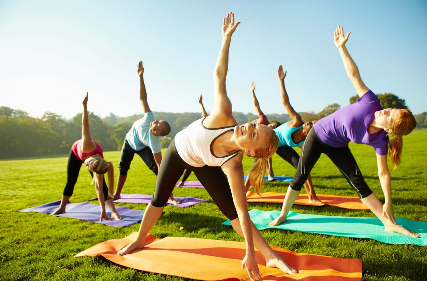 Broomfield Outdoor Yoga Class